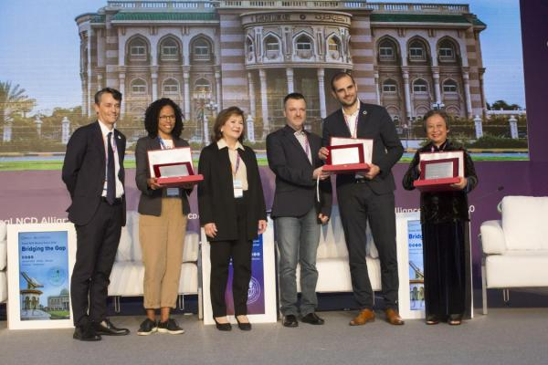 NCD alliances lauded with Sharjah Awards at Global NCDA Forum 2020