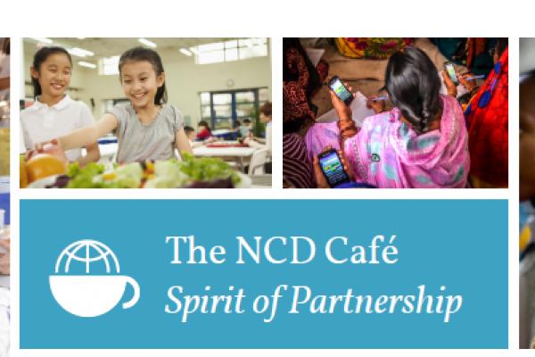 La cobertura de salud universal en el Café de las ENT en AMREF 2019