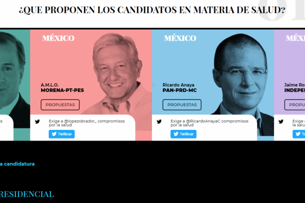 Mexico Salud-Hable turns spotlight on presidential candidates