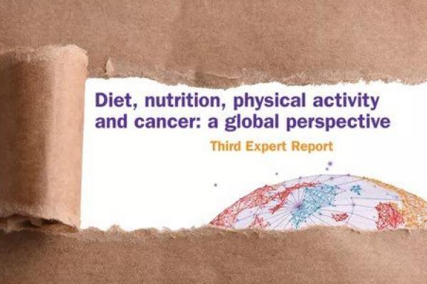 New report reinforces call for better diet and more physical activity to prevent cancer