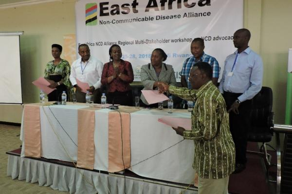 East Africa NCD Alliance gears up to make the most of 2018