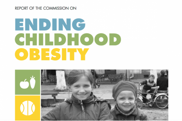 New WHO report on ending childhood obesity