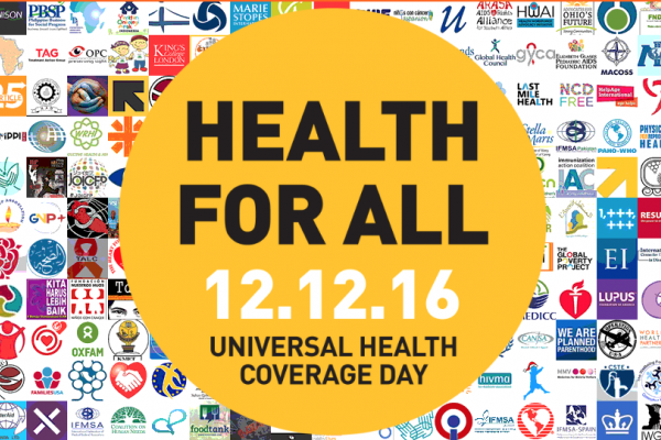 UHC Day 2016 campaign call to act with ambition