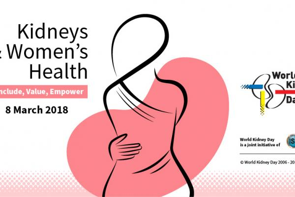 World Kidney Day 2018 focusing on women