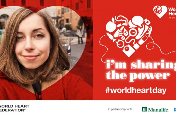 'Share the power' on World Heart Day