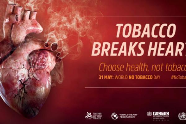 Tobacco breaks hearts: World No Tobacco Day 2018