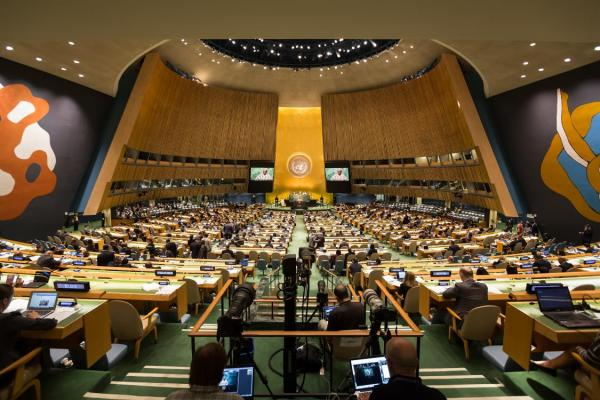 Overview of NCD-themed events at UNGA72