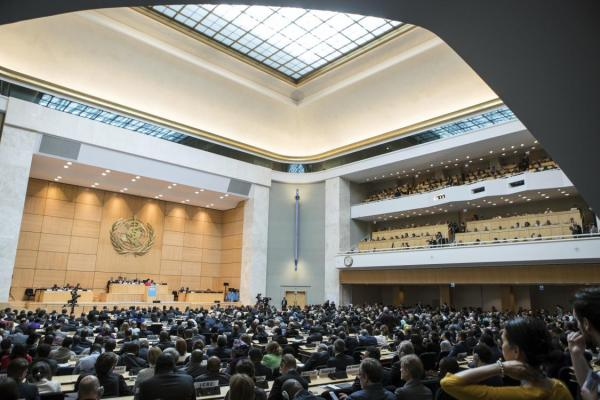 8 key moments from 74th World Health Assembly