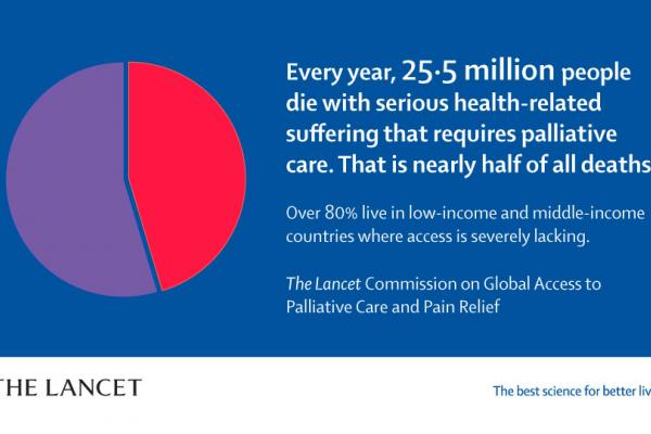 61 million+ people face serious health-related suffering yearly